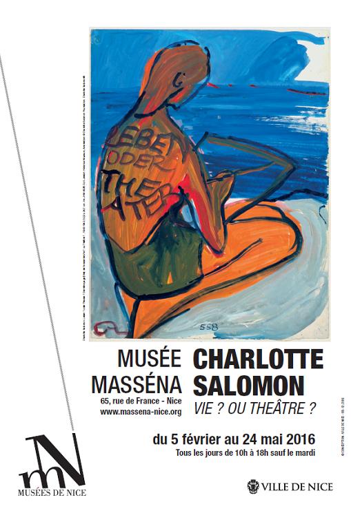 Nice : Exposition inédite de Charlotte Salomon au Musée Masséna…