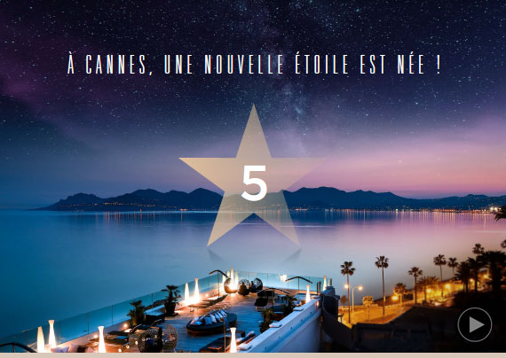Le Radisson Blu 1835 Hôtel Cannes obtient sa 5ème étoile….