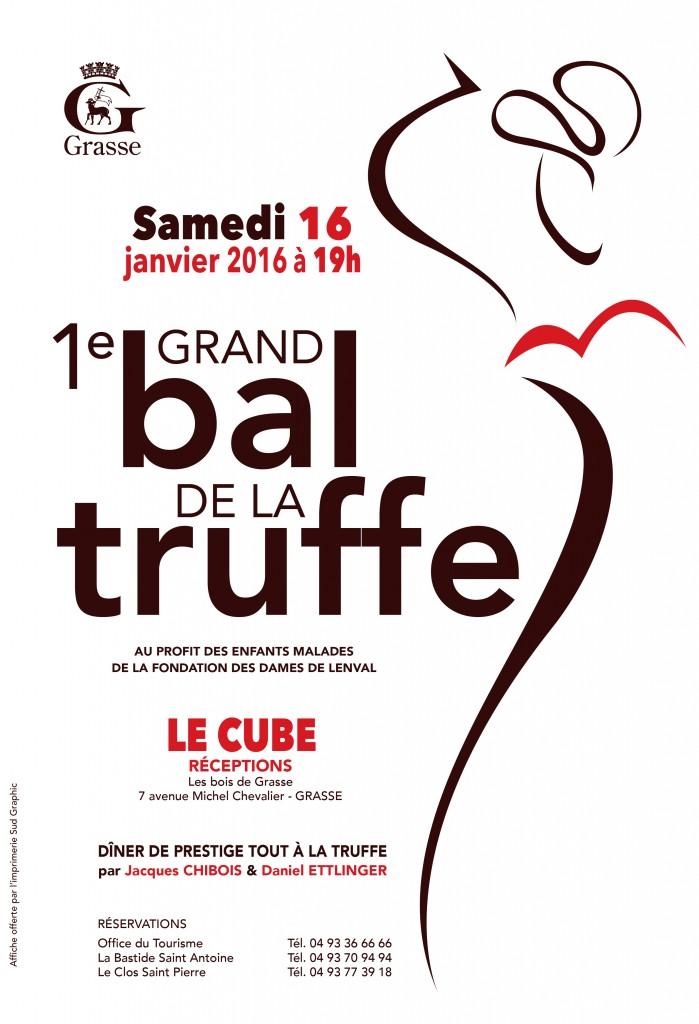 Grasse : 1er Grand Bal de la Truffe …