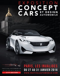 Paris : 31 ème édition du Festival Automobile International …