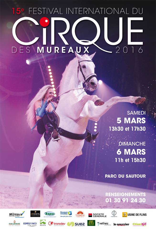15e anniversaire du Festival du Cirque des Mureaux 2016 !…
