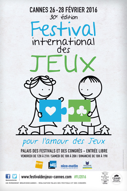 Cannes : Festival International des Jeux 2016…