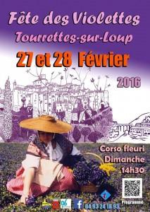 Tourrettes-sur-Loup : Fête des Violettes 2016 …