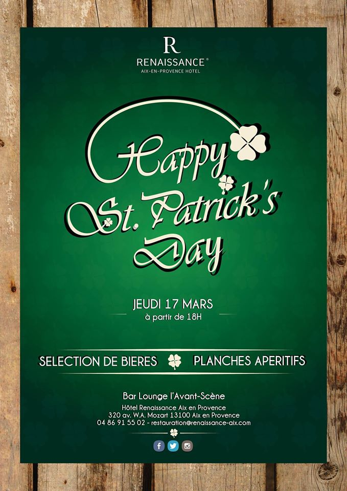 Aix-en-Provence : La St Patrick se fête au Renaissance…