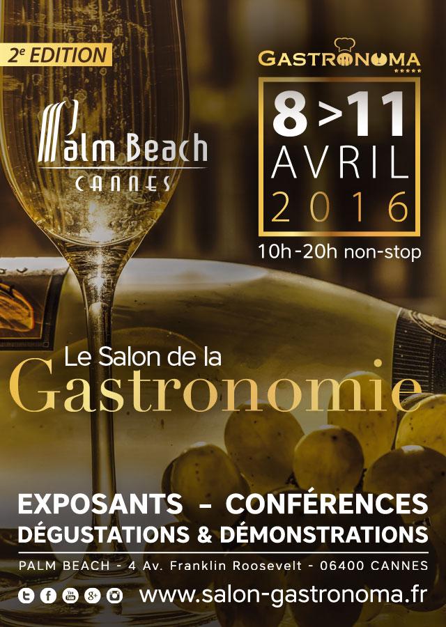 Cannes : «Salon Gastronoma 2016 »  …