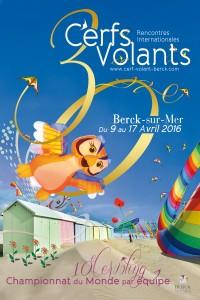 Berck-sur-Mer (62) : 30 èmes Rencontres Internationales de Cerfs-Volants…