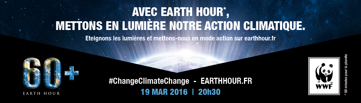 10e édition d'Earth Hour…