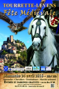 Tourrette-Levens : «Fête Médiévale 2016 »  …
