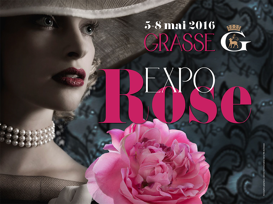 Grasse :  « EXPO ROSE 2016  » …