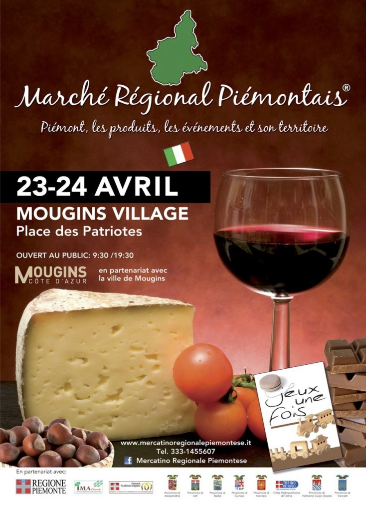 Mougins : Marché Régional Piémontais 2016 …