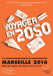 Marseille : 78 èmes Assises Inter-nationales du Compagnonnage Voyager en 2050…