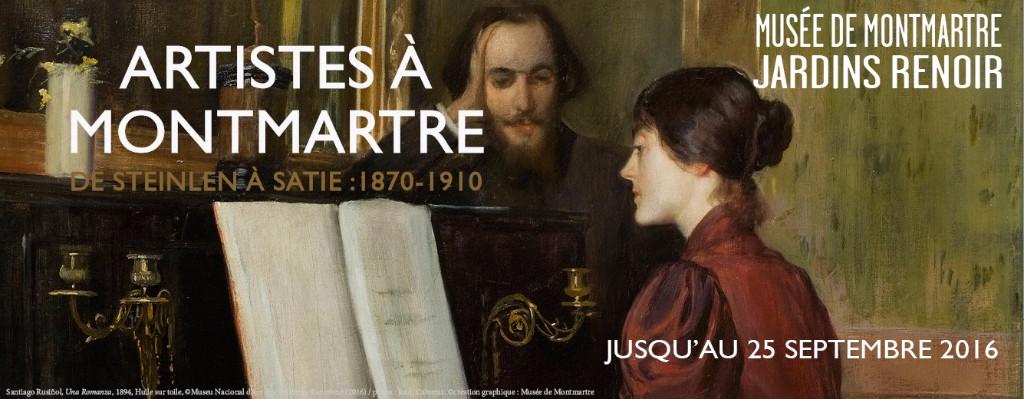 Paris : Nouvelle exposition au Musée de Montmartre …