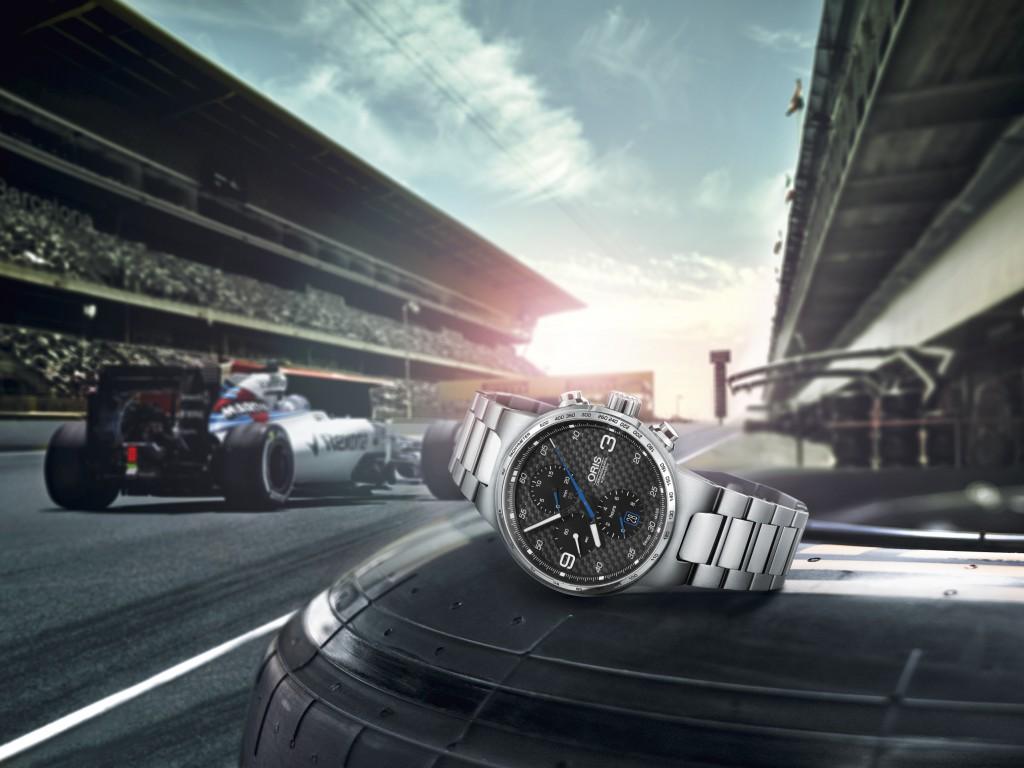 Plus que jamais dans la course Oris étend sa collection Williams avec un nouveau chronographe doté d'un cadran en fibre de carbone qui affirme plus que jamais son style sportif…