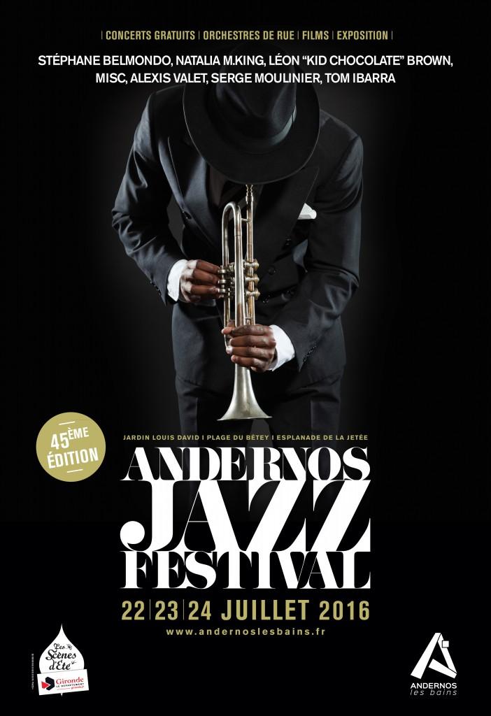 ANDERNOS JAZZ FESTIVAL 2016…