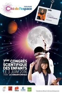 7ème Congrès scientifique des Enfants à la Cité de l'espace…