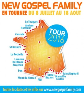 NEW GOSPEL FAMILY TOUR 2016…