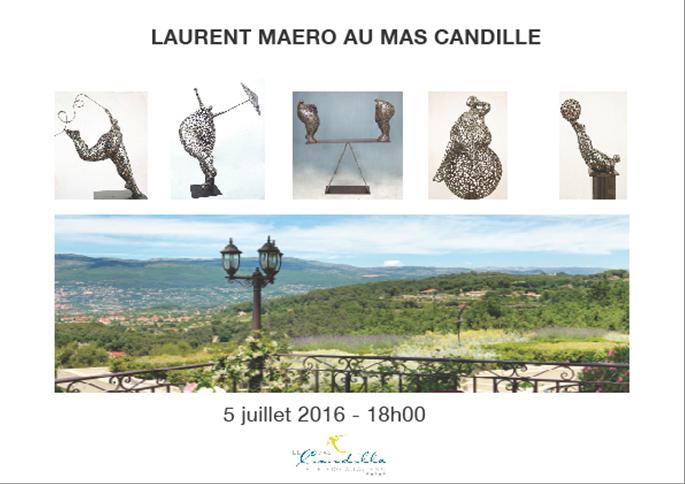 Mougins : Exposition des œuvres de LAURENT MAERO au Mas Candille…