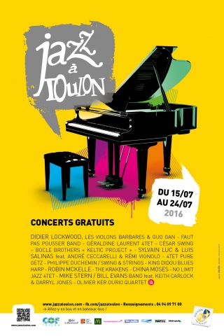JAZZ A TOULON 2016…