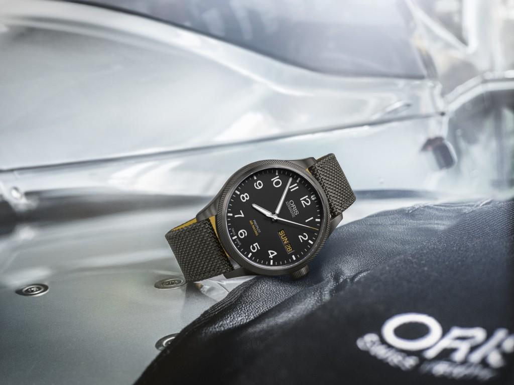 La montre du pilote…La Maison Oris dévoile la sixième édition de la série Air Racing pour célébrer le sport mécanique le plus rapide du monde…