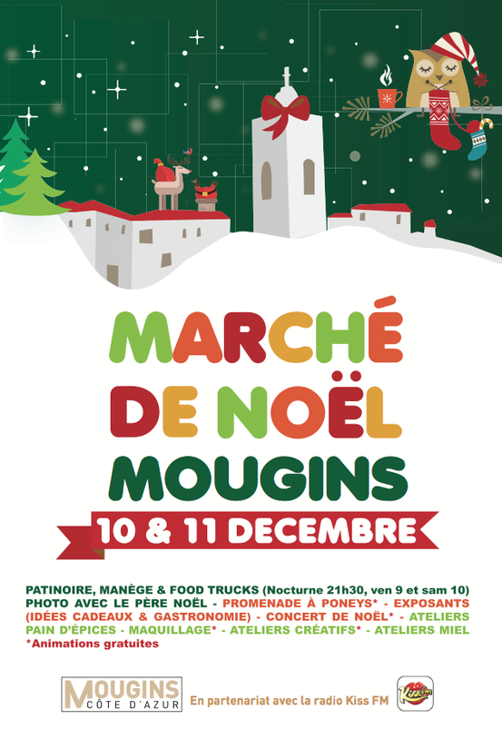NOËL À MOUGINS VILLAGE 2016 …
