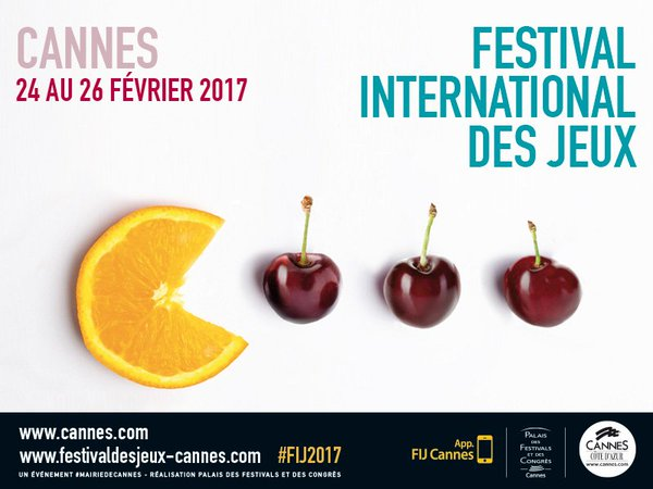 Cannes : Festival International des Jeux 2017…