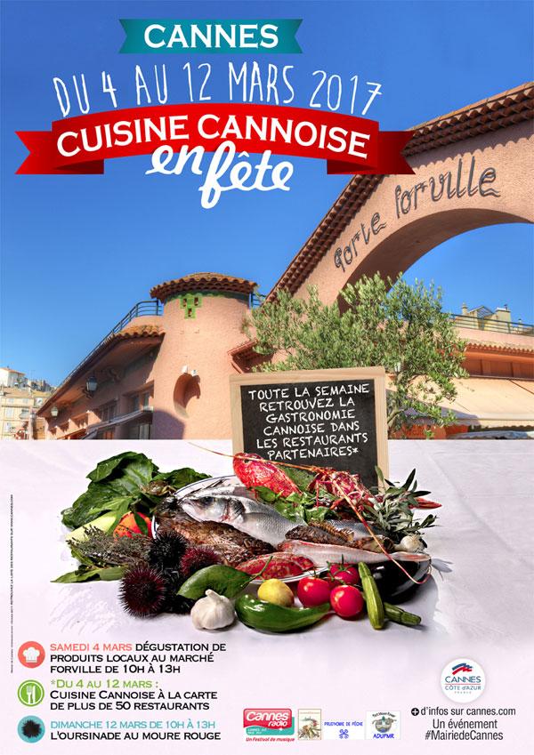 « Cuisine Cannoise en Fête 2017 »…