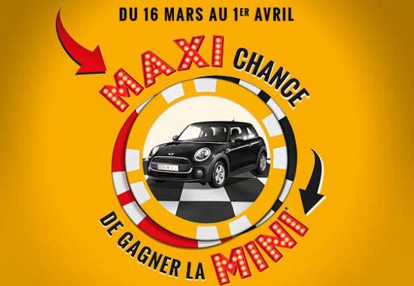 Le Casino Barrière Le Croisette Cannes lance la grande opération «Maxi Chance de Gagner une MINI»…