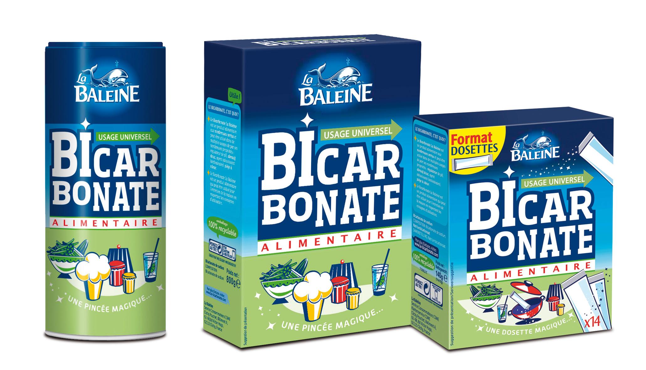 Le tout nouveau pack du Bicarbonate La Baleine. Je change de look !…
