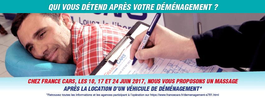 France Cars, le loueur qui vous détend après votre déménagement ! …