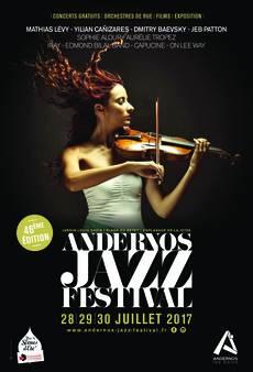 ANDERNOS JAZZ FESTIVAL 46ème édition du 28 au 30 juillet 2017…