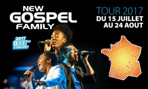 1000 concerts pour New Gospel Family…