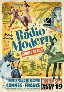 Radio Modern…Les soirées fifties arrivent sur la Côte d'Azur…