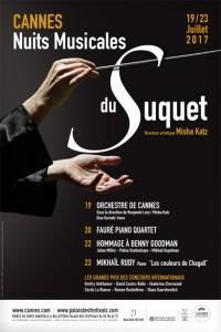 Les Nuits Musicales du Suquet, du 19 au 23 juillet 2017…