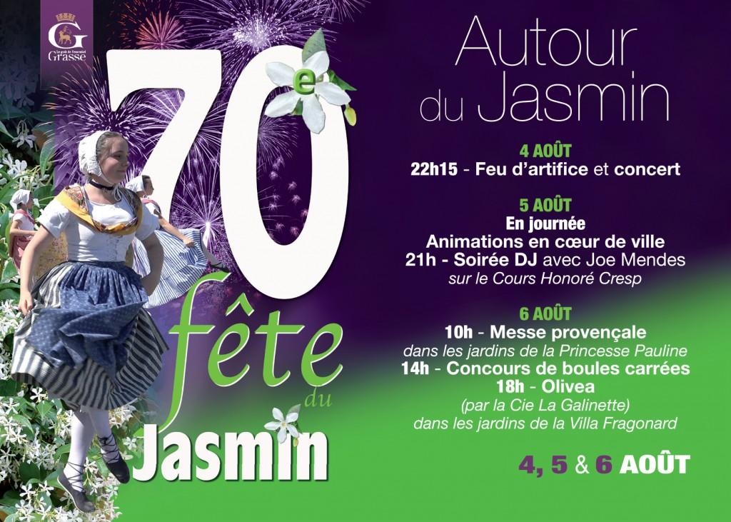 GRASSE FETE LE JASMIN 2017…