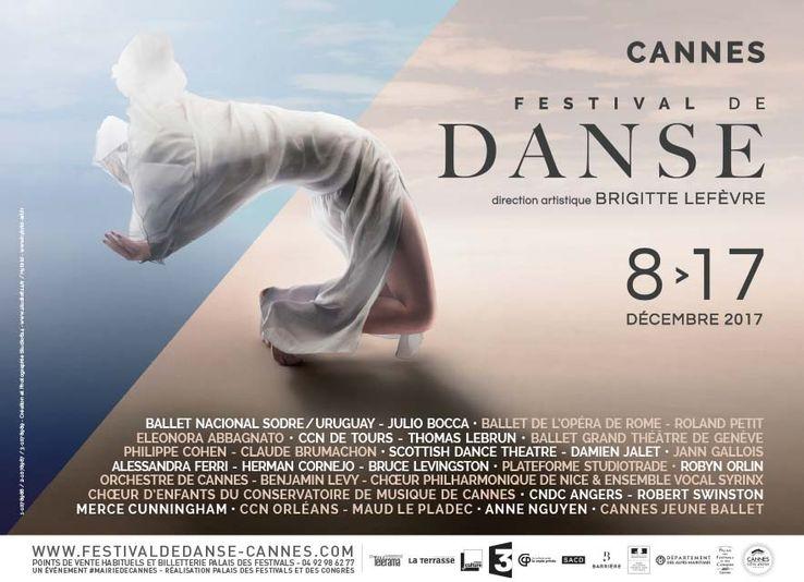 Festival de Danse de Cannes du 8 au 17 décembre 2017… Une édition placée sous le signe des traversées…