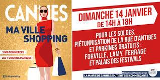 Cannes : Soldes parkings gratuits et rue d'Antibes piétonne…