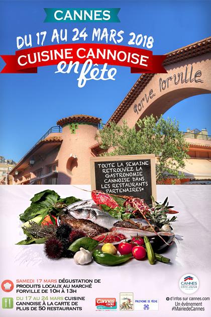 « Cuisine Cannoise en Fête » 2018…