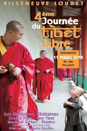 Villeneuve-Loubet Village: 4ème Journée du Tibet libre …