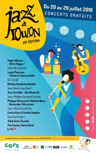 « JAZZ À TOULON 2018  »  …