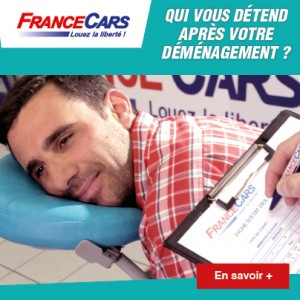 France Cars, le loueur qui vous détend après votre déménagement…