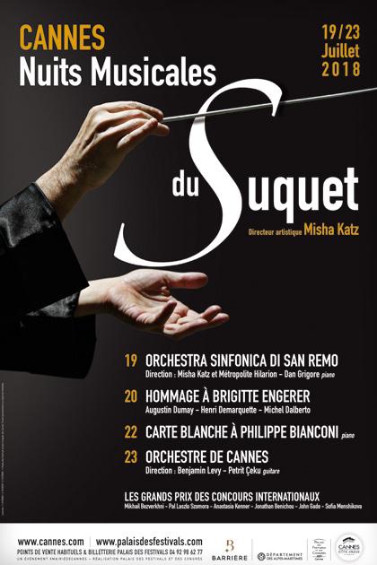 Cannes : «Nuits Musicales du Suquet 2018 » …