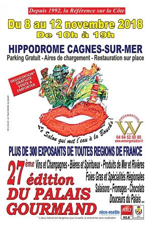 Cagnes-sur-Mer : Salon du Palais Gourmand…