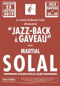 Les concerts de Monsieur Martial SOLAL…