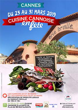 « Cuisine Cannoise en Fête 2019 »…
