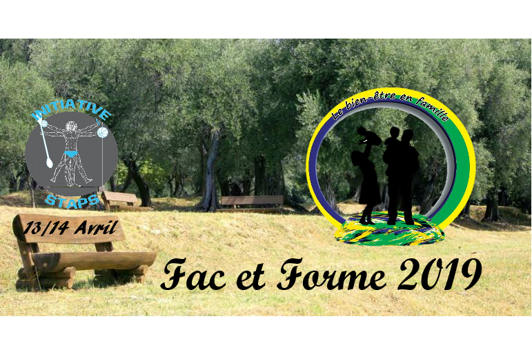 FAC ET FORME à Nice : «Le bien-être en famille» au Parc Départemental…