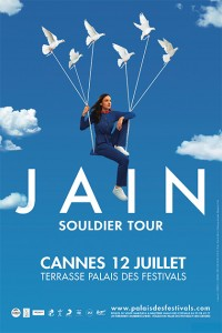 CANNES : JAIN en concert d'exception…