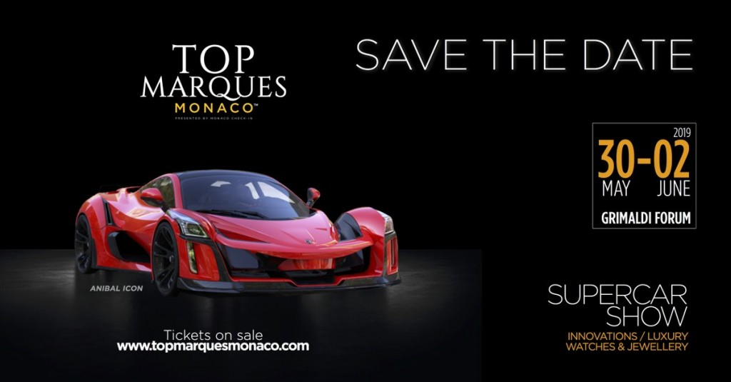 MONACO : « SALON TOP MARQUES 2019  »