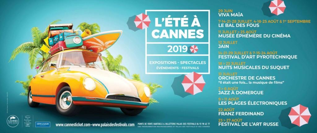 «ÉTÉ à CANNES 2019 » …