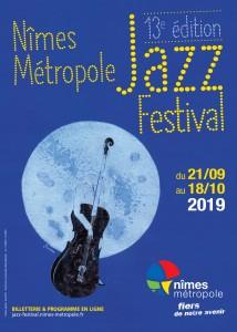 NIMES METROPOLE JAZZ FESTIVAL 2019…