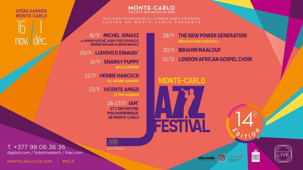 MONTE CARLO JAZZ FESTIVAL 2019…